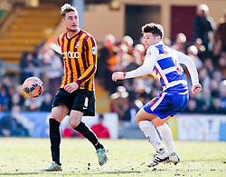 Bradford City's Gary Liddle in action- Photo mandatory by-line: Matt McNulty/JMP - Mobile: 07966 386802 - 07/03/2015 - SPORT - Football - Bradford - Valley Parade - Bradford City vReading - FA Cup - Quarter Final