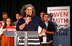 © Licensed to London News Pictures. 26/07/2016. London, UK. Heidi Alexander MP speaking at an Owen Smith Labour leadership rally at Emmanuel Centre in London on 26 July 2016. Photo credit: Tolga Akmen/LNP