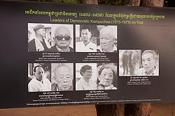 Siem Reap Killing Field Temple Exhibit