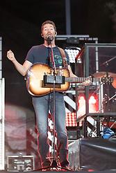 June 20, 2018 - Oshkosh, Wisconsin, U.S - Country musician JOSH TURNER during Country USA Music Festival at Ford Festival Park in Oshkosh, Wisconsin (Credit Image: © Daniel DeSlover via ZUMA Wire)