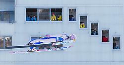 31.12.2017, Olympiaschanze, Garmisch Partenkirchen, GER, FIS Weltcup Ski Sprung, Vierschanzentournee, Garmisch Partenkirchen, Training, im Bild Cestmir Kozisek (CZE) // Cestmir Kozisek of Czech Republic during his Practice Jump for the Four Hills Tournament of FIS Ski Jumping World Cup at the Olympiaschanze in Garmisch Partenkirchen, Germany on 2017/12/31. EXPA Pictures © 2017, PhotoCredit: EXPA/ Jakob Gruber
