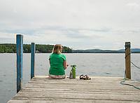 An afternoon at the Wolfeboro Docks.  ©2016 Karen Bobotas Photographer