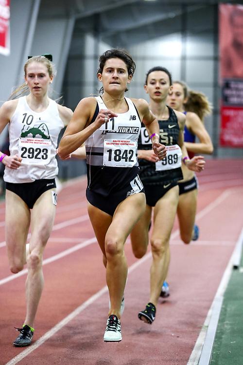 David Hemery Valentine Invitational<br /> Indoor Track & Field at Boston University , womens 3000 meters, heat 1,  , Brianna Ilarda, Providence,