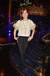 Darcey Bussell at the SheInspiresMe Dance in aid of Women for Women International held at the Café de Paris, 3 Coventry Street, London England. 25 January 2017.