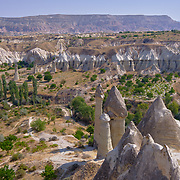 Cappadocia Love Valley lanscape, Turkey