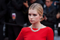 Lottie Moss at the gala screening for the film Loving at the 69th Cannes Film Festival, Monday 16th May 2016, Cannes, France. Photography: Doreen Kennedy