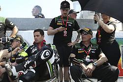 April 21, 2018 - Le Mans, SARTHE (72, FRANCE - 11 TEAM SRC KAWASAKI (FRA) KAWASAKI ZX 10R FORMULA EWC GINES MATHIEU (FRA) DE PUNIET RANDY (FRA) GUARNONI JEREMY (FRA) BERCHET MORGAN  (Credit Image: © Panoramic via ZUMA Press)