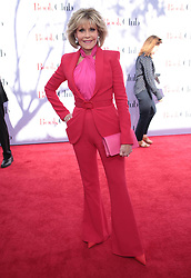 "Jane Fonda at the premiere of ""Book Club"" in Los Angeles, CA."