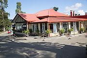 Cafe bar building of Grand Hotel,  Nuwara Eliya, Sri Lanka, Asia