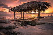 Windandsea Beach at Sunset