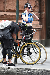 August 1, 2018 New York City<br /> <br /> Sophie Turner was seen leaving the gym in New York City on August 1, 2018.