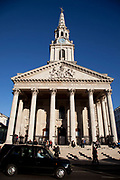 St Martin in the Fields Church in central London.