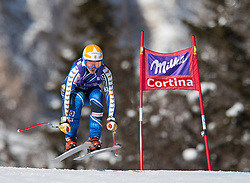 19.01.2013, Olympia delle Tofane, Cortina d Ampezzo, ITA, FIS Weltcup Ski Alpin, Abfahrt, Damen, im Bild Jessica Lindell-Vikarby (SWE) // Jessica Lindell-Vikarby of Sweden in action during the ladies Downhill of the FIS Ski Alpine World Cup at the Olympia delle Tofane course, Cortina d Ampezzo, Italy on 2013/01/19. EXPA Pictures © 2013, PhotoCredit: EXPA/ Johann Groder