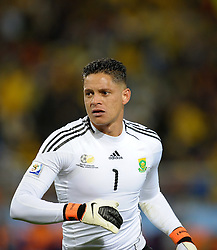 Moneeb Josephs of South Africa in action, France v South Africa, FIFA World Cup 2010 Group A, Free State Stadium, Bloemfontein, South Africa, Date 22062010 Picture by Marc Atkins Mobile +27 8200 97621 (IPS PHOTO AGENCY) - 21 Delisle road - London SE28 0JD- tel: 020 88 55 1 008 - fax: 020 88 55 1037 - ISDN: 020 88 55 1039. / SPORTIDA PHOTO AGENCY
