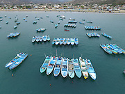 Fishing Fleet<br /> Puerto Lopez<br /> Manabi Province<br /> Ecuador<br /> South America