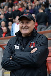 Leyton Orient's manager Russell Slade   - Photo mandatory by-line: Mitchell Gunn/JMP - Tel: Mobile: 07966 386802 29/09/2013 - SPORT - FOOTBALL -  Matchroom Stadium - London - Leyton Orient v Walsall - Sky Bet League One