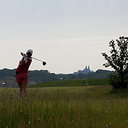 The Erin Hills Golf Course, a rolling and rugged course in Erin, Wisconsin, is home to the 2017 US Open. Please send licensing requests to legal@toddbigelowphotography.com