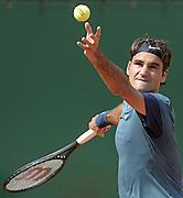 © Filippo Alfero<br /> Monte-Carlo Tennis Masters 2014<br /> Monaco, 17/04/2014<br /> sport tennis<br /> Nella foto: Roger Federer