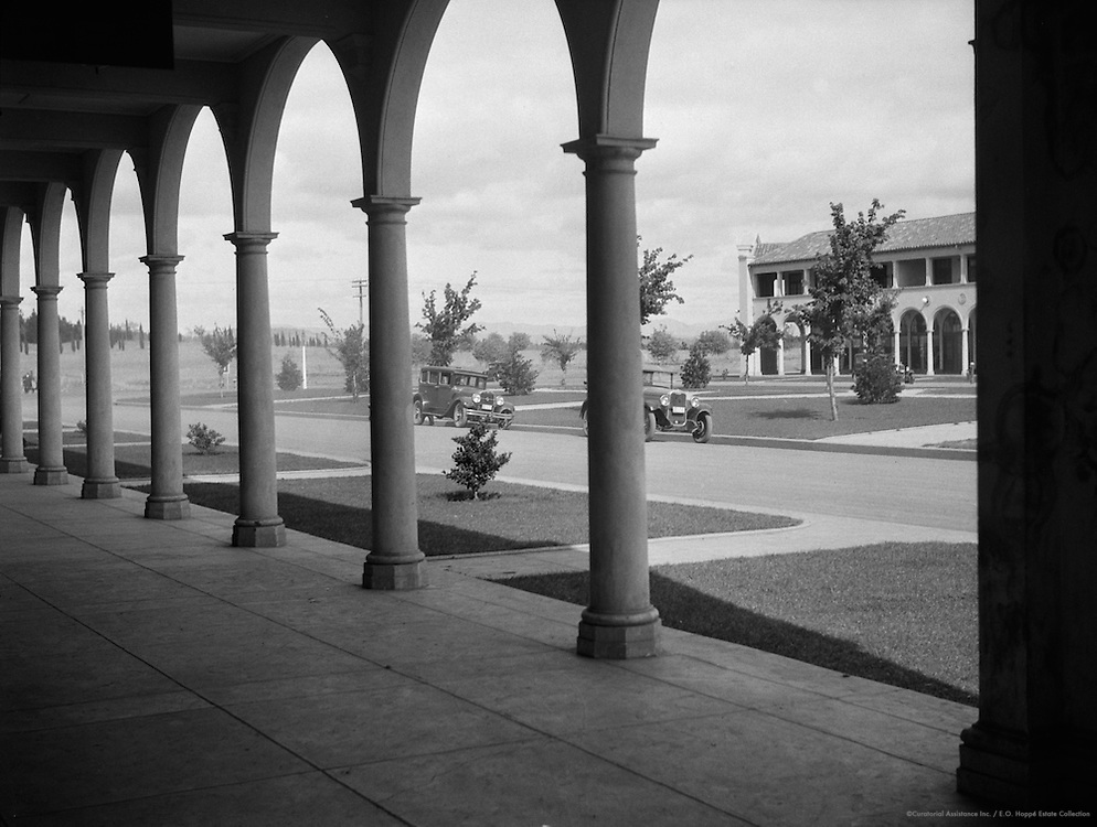 Civic Center, Corner of Northborne Dr. & London Circuit, Canberra, Australia, 1930