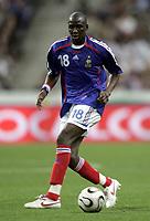 Fotball<br /> Frankrike<br /> Foto: Dppi/Digitalsport<br /> NORWAY ONLY<br /> <br /> FOOTBALL - FRIENDLY GAME 2006 - 27/05/2006 - FRANCE v MEXICO<br /> <br /> ALOU DIARRA (FRA)