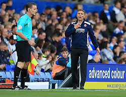 Bolton Wanderers manager Phil Parkinson - Mandatory by-line: Paul Roberts/JMP - 15/08/2017 - FOOTBALL - St Andrew's Stadium - Birmingham, England - Birmingham City v Bolton Wanderers - Sky Bet Championship