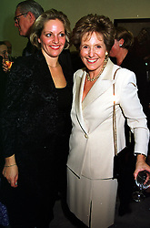Left to right, MISS ELIZABETH MAJOR and her mother DAME NORMA MAJOR, at a party in London on 11th October 1999.MXK 60