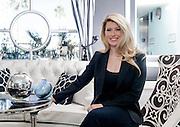 Katie Epstein of El Cortez hotel in Las Vegas photographed for David Magazine