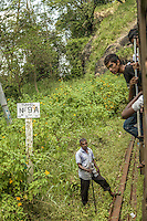 Sri Lanka from a train