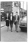 Countess Mountbatter of Busma, Lord Brabourne, Hon Philip Knatchbull© Copyright Photograph by Dafydd Jones 66 Stockwell Park Rd. London SW9 0DA Tel 020 7733 0108 www.dafjones.com