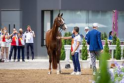 Jurado Lopez Severo, ESP, Fendi T, 126<br /> Olympic Games Tokyo 2021<br /> © Hippo Foto - Dirk Caremans<br /> 23/07/2021