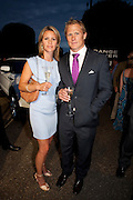 VANESSA LUCIE; JOSH LUCIE,, Alexandra Shulman, Editor of Vogue & Phil Popham, Managing Director of Land Rover<br /> host the 40th Anniversary of Range Rover. The Orangery at Kensington Palace. London. 1 July 2010. -DO NOT ARCHIVE-© Copyright Photograph by Dafydd Jones. 248 Clapham Rd. London SW9 0PZ. Tel 0207 820 0771. www.dafjones.com.