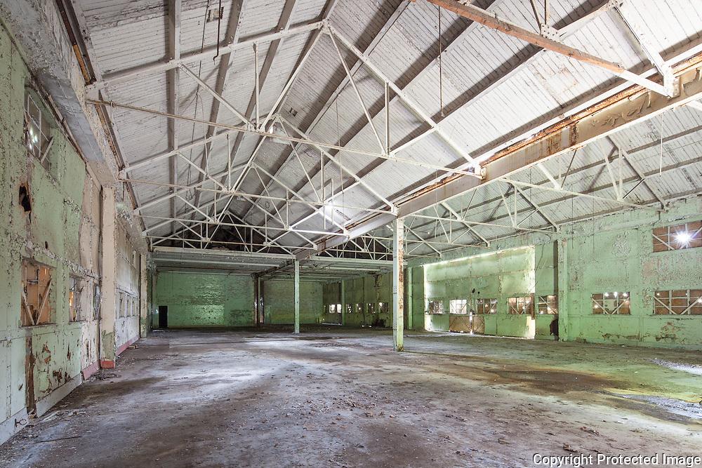 Building 119 FFMT Shed. RAF Bicester