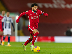 LIVERPOOL, ENGLAND - Sunday, December 27, 2020: Liverpool's Mohamed Salah during the FA Premier League match between Liverpool FC and West Bromwich Albion FC at Anfield. The game ended in a 1-1 draw. (Pic by David Rawcliffe/Propaganda)
