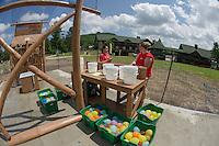 "Gunstock Mountain Resort ""Water Wars"" adventure.  Karen Bobotas for the Laconia Daily Sun"