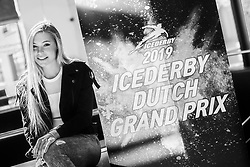 10-04-2019 NED: Kick off of Icederby in Thialf 2019/2020, Almere<br /> The Ultimate Icederby between long track and short track speed skating comes to invade the Netherlands / Jutta Leerdam