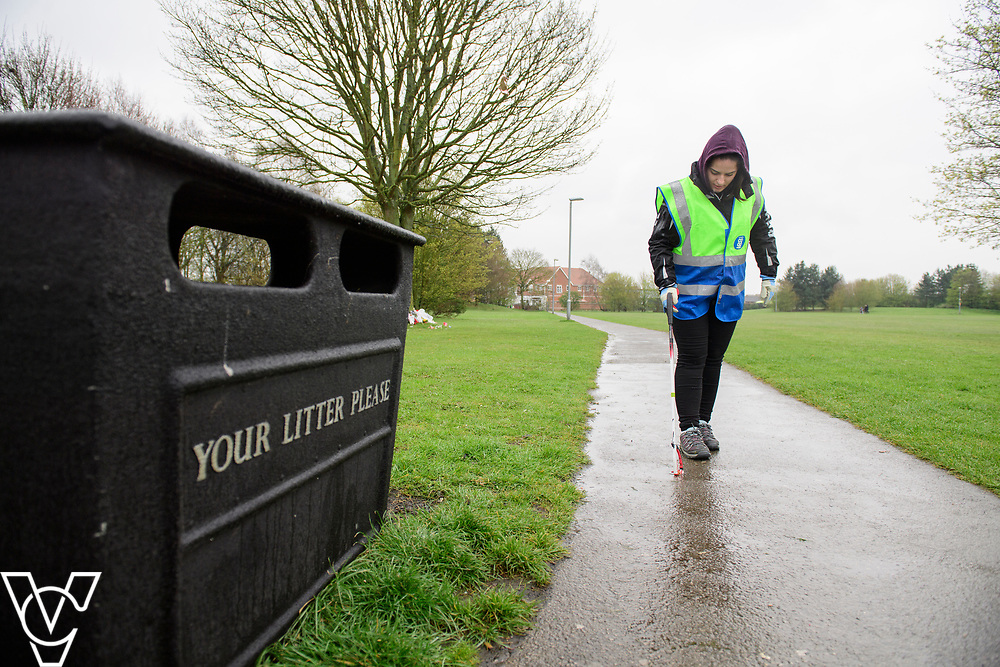 Lincolnshire Co-op colleagues and members along with residents and local councillors have been taking part in the Co-op's Big Clean in Birchwood, Lincoln,<br /> <br /> Picture: Chris Vaughan Photography for Lincolnshire Co-op<br /> Date: April 2, 2019