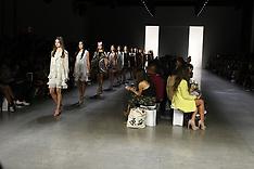 Dan Liu S/S 2019 runway New York Fashion Week - 12 Sept 2018