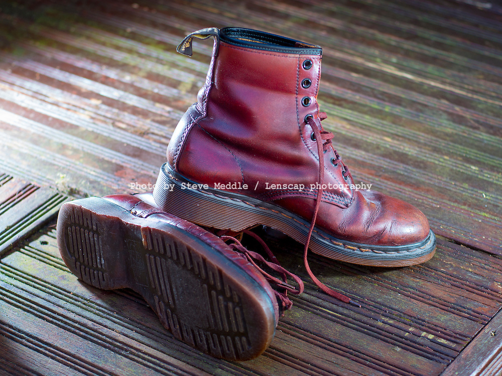 Dr Martens Leather Lace up Boots - 15 Mar 2014