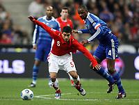 Fotball<br /> Frankrike<br /> Foto: DPPI/Digitalsport<br /> NORWAY ONLY<br /> <br /> FOOTBALL - FRIENDLY GAMES 2008/2009 - FRANCE v URUGUAY - 19/11/2008 - WALTER GARGANO (URU) / PATRICK VIEIRA (FRA)