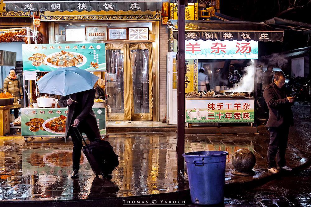 Xi'an, China. Muslim Quarter