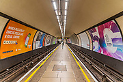 The underground is very quiet -  The 'lockdown' continues for the Coronavirus (Covid 19) outbreak in London.