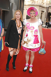 MIRANDA RICHARDSON and GRAYSON PERRY  at the Royal Academy of Art Summer Exhibition Preview Party on 4th June 2008.<br /><br />NON EXCLUSIVE - WORLD RIGHTS