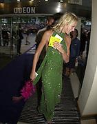 Emma Parker-Bowles. Snatch Premiere. Odeon Leicester Sq. London. 23 Augusty 2000. <br />© Copyright Photograph by Dafydd Jones 66 Stockwell Park Rd. London SW9 0DA Tel 020 7733 0108 www.dafjones.com