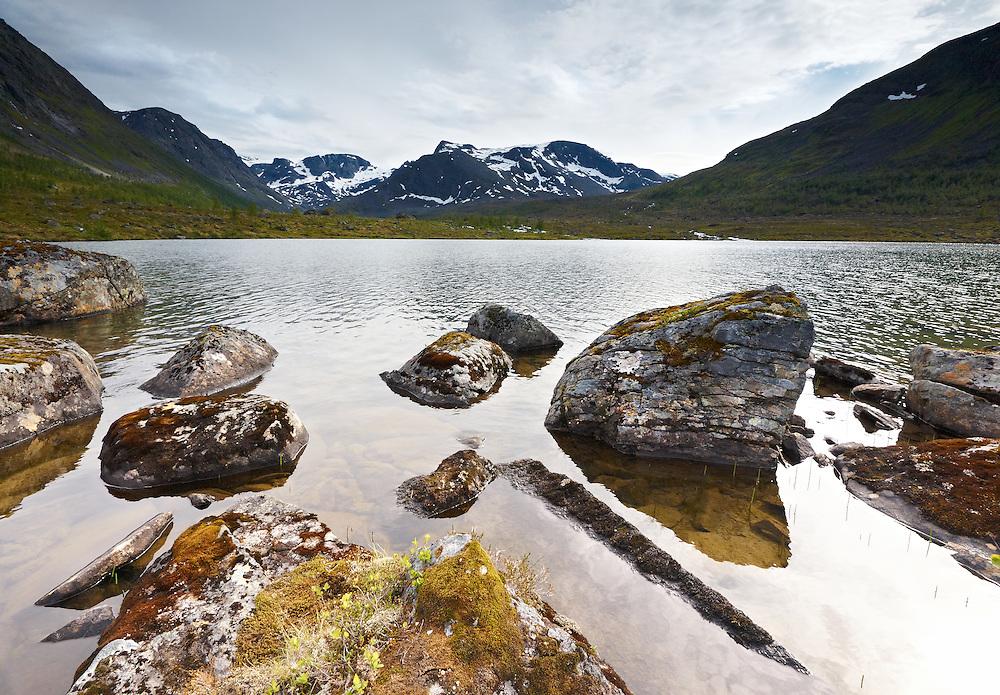 Norway - Langfjord glacier lake