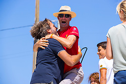 Belgium supporters<br /> FEI Jumping European Championships for Young Riders, Juniors, Children - Vilamoura 2021<br /> © Hippo Foto - Leanjo de Koster<br /> 21/07/2021