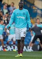 Football - 2016/2017 Premier League - Chelsea V West Ham United. <br /> <br /> Pedro Obiang of West Ham at Stamford Bridge.<br /> <br /> COLORSPORT/DANIEL BEARHAM