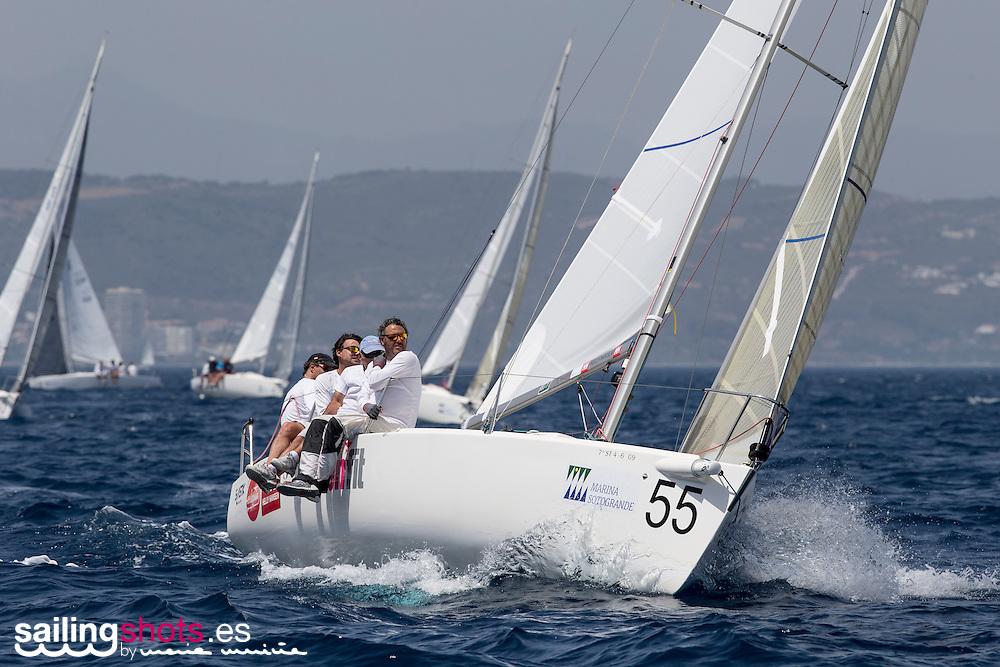 30 de junio de 2016, Cuarta Jornada del Campeonato del Mundo de J80 Marina de Sotogrande./Day 4 at the J80 Worlds Marina de Sotogrande.