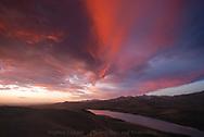 Dog Gun Lake Sunrise, Blackfeet Reservation, Montana
