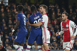 November 5, 2019: AMSTERDAM, NETHERLANDS - OCTOBER 22, 2019: Joel Veltman (Ajax) pictured during the 2019/20 UEFA Champions League Group H game between Chelsea FC (England) and AFC Ajax (Netherlands) at Stamford Bridge. (Credit Image: © Federico Guerra Maranesi/ZUMA Wire)