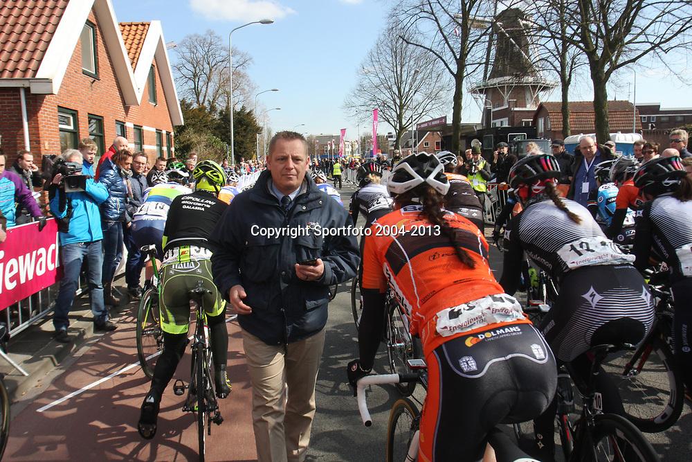 UCI president Thierry Diederen probeerd alles in goede banen te leiden